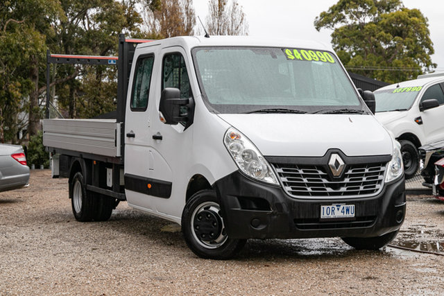 Used Renault Master X62 Double Cab LWB AMT RWD Mornington, 2018 Renault Master X62 Double Cab LWB AMT RWD Oqng 6 Speed Sports Automatic Single Clutch