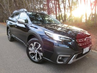 2021 Subaru Outback B7A MY21 AWD Touring CVT Dark Blue Pearl 8 Speed Constant Variable Wagon.