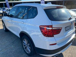 2013 BMW X3 F25 MY0413 xDrive20d Steptronic White 8 Speed Automatic Wagon.