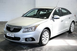 2013 Holden Cruze JH Series II MY13 CDX Silver 6 Speed Sports Automatic Sedan.