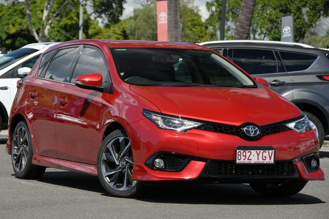 Used Toyota Corolla ZRE182R ZR S-CVT North Lakes, 2018 Toyota Corolla ZRE182R ZR S-CVT Red 7 Speed Constant Variable Hatchback