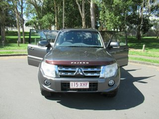 2012 Mitsubishi Pajero NW MY13 VR-X Grey 5 Speed Sports Automatic Wagon
