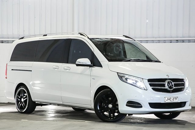 Used Mercedes-Benz V-Class 447 V250 d 7G-Tronic + Avantgarde West Gosford, 2016 Mercedes-Benz V-Class 447 V250 d 7G-Tronic + Avantgarde White 7 Speed Sports Automatic Wagon