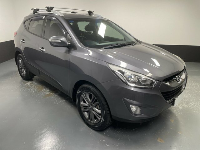 Used Hyundai ix35 LM3 MY14 Elite AWD Hamilton, 2014 Hyundai ix35 LM3 MY14 Elite AWD Grey 6 Speed Sports Automatic Wagon