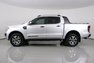 2018 Ford Ranger PX MkIII MY19 Wildtrak 3.2 (4x4) Silver 6 Speed Manual Dual Cab Pick-up