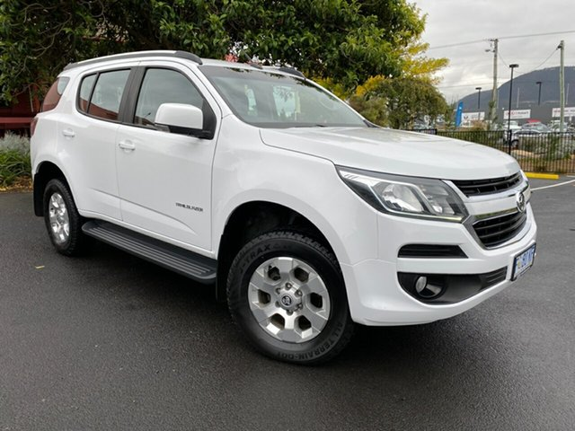 Used Holden Trailblazer RG MY17 LT Glenorchy, 2016 Holden Trailblazer RG MY17 LT Summit White 6 Speed Sports Automatic Wagon