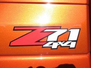 2016 Holden Colorado RG MY17 Z71 Pickup Crew Cab Orange 6 Speed Sports Automatic Utility