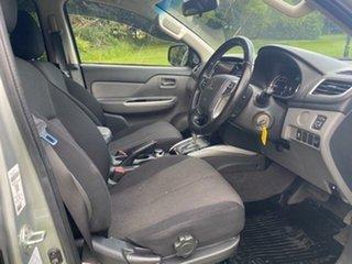 2017 Mitsubishi Triton MQ MY17 GLS (4x4) Silver 5 Speed Automatic Dual Cab Utility