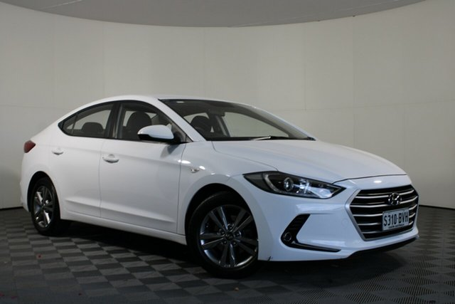 Used Hyundai Elantra AD MY17 Active Wayville, 2016 Hyundai Elantra AD MY17 Active White 6 Speed Sports Automatic Sedan
