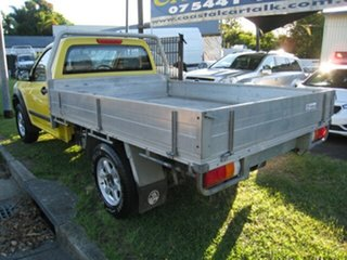 2006 Holden Rodeo RA MY06 Upgrade LX Yellow 4 Speed Automatic Cab Chassis