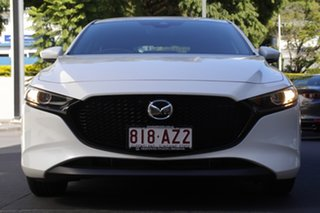 2020 Mazda 3 BP2H7A G20 SKYACTIV-Drive Pure White 6 Speed Sports Automatic Hatchback