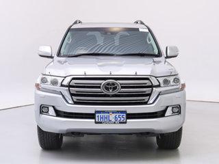 2020 Toyota Landcruiser VDJ200R LC200 Sahara (4x4) Silver 6 Speed Automatic Wagon.