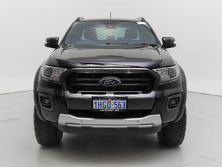 2020 Ford Ranger PX MkIII MY20.25 Wildtrak 3.2 (4x4) Black 6 Speed Automatic Double Cab Pick Up.