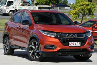 2020 Honda HR-V MY21 RS Phoenix Orange 1 Speed Constant Variable Hatchback.