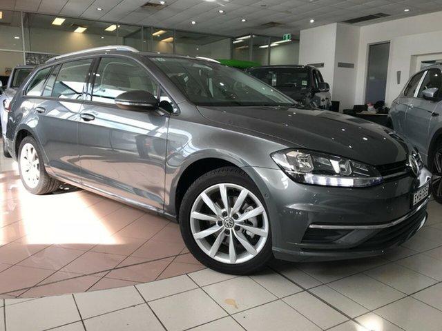 Demo Volkswagen Golf 7.5 MY20 110TSI DSG Comfortline Hamilton, 2020 Volkswagen Golf 7.5 MY20 110TSI DSG Comfortline Indium Grey 7 Speed