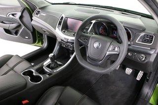 2015 Holden Commodore VF MY15 SS-V Redline Jungle Green 6 Speed Manual Sedan