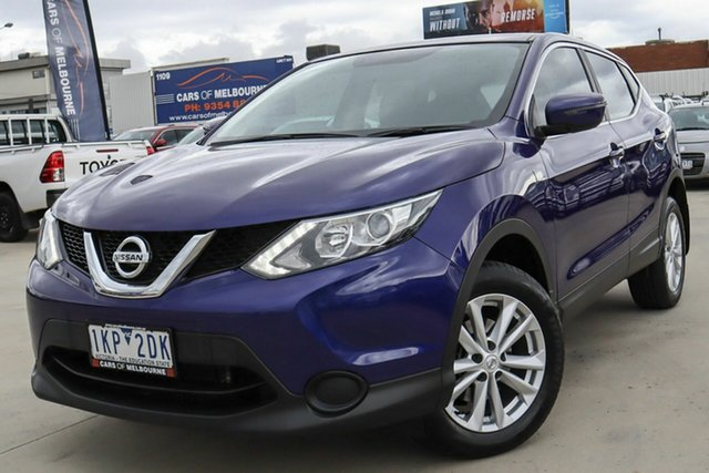 Used Nissan Qashqai J11 ST Coburg North, 2017 Nissan Qashqai J11 ST Blue 1 Speed Constant Variable Wagon