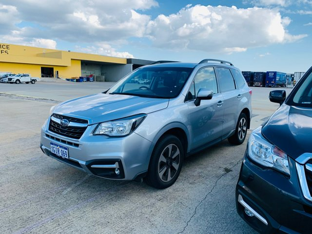 Used Subaru Forester S4 MY18 2.5i-L CVT AWD Canning Vale, 2017 Subaru Forester S4 MY18 2.5i-L CVT AWD Silver 6 Speed Constant Variable Wagon