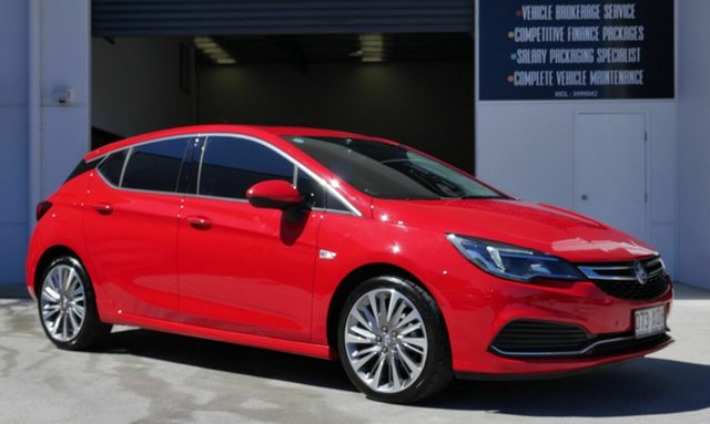 Used Holden Astra BK MY17 RS-V Capalaba, 2017 Holden Astra BK MY17 RS-V Red 6 Speed Sports Automatic Hatchback