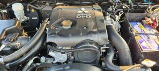 2010 Mitsubishi Triton MN MY10 GLX-R Double Cab Brown 5 Speed Sports Automatic Utility.