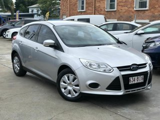 2012 Ford Focus LW MkII Ambiente Silver 5 Speed Manual Hatchback.