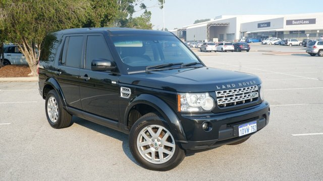 Used Land Rover Discovery 4 Series 4 MY12 TdV6 CommandShift Maddington, 2012 Land Rover Discovery 4 Series 4 MY12 TdV6 CommandShift Black 6 Speed Sports Automatic Wagon
