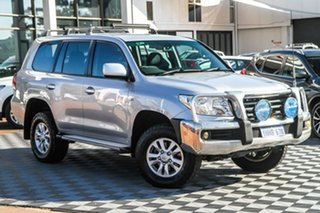 2011 Toyota Landcruiser VDJ200R MY10 GXL Silver 6 Speed Sports Automatic Wagon.