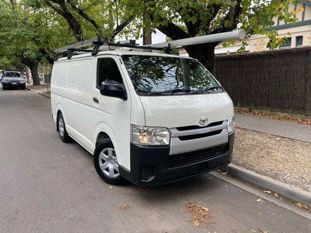 Used Toyota HiAce KDH201R LWB Hawthorn, 2016 Toyota HiAce KDH201R LWB White 4 Speed Automatic Van