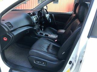 2007 Toyota Kluger GSU40R KX-S 2WD White 5 Speed Sports Automatic Wagon