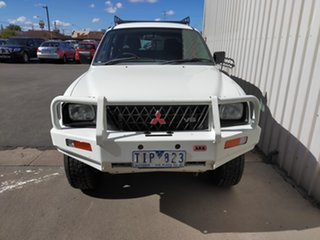 2003 Mitsubishi Triton MK MY04 GLS Double Cab 5 Speed Manual Utility.