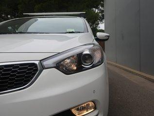 2013 Kia Cerato YD MY14 S White 6 Speed Manual Hatchback