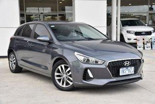 2018 Hyundai i30 PD2 MY18 Active Grey 6 Speed Sports Automatic Hatchback.