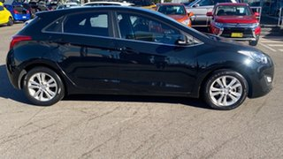 2014 Hyundai i30 GD MY14 Elite Black 6 Speed Sports Automatic Hatchback.