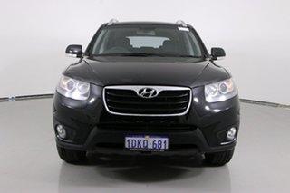 2010 Hyundai Santa Fe CM MY10 Highlander CRDi (4x4) Black 6 Speed Automatic Wagon.