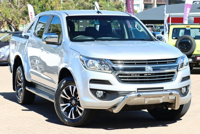 Used Holden Colorado RG MY17 LTZ (4x4) Rosebery, 2017 Holden Colorado RG MY17 LTZ (4x4) Silver 6 Speed Automatic Crew Cab Pickup
