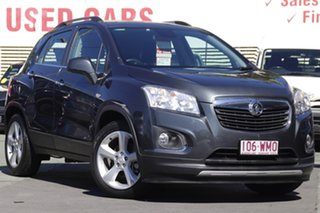 2016 Holden Trax TJ MY16 LTZ Grey 6 Speed Automatic Wagon.