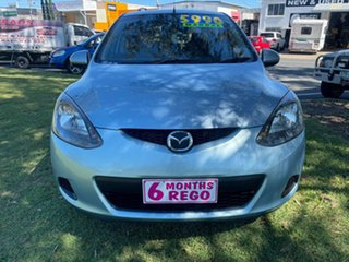 2008 Mazda 2 DE10Y1 Genki Blue 5 Speed Manual Hatchback
