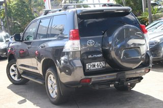 2012 Toyota Landcruiser Prado KDJ150R 11 Upgrade GXL (4x4) Graphite 5 Speed Sequential Auto Wagon.