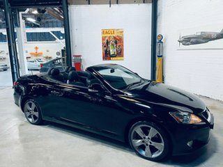 2010 Lexus IS GSE20R MY10 IS250 C Sports Luxury Black 6 Speed Sports Automatic Convertible