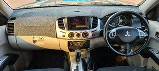 2010 Mitsubishi Triton MN MY10 GLX-R Double Cab Brown 5 Speed Sports Automatic Utility