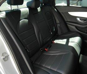 2018 Mercedes-Benz C-Class W205 808MY C200 9G-Tronic Silver 9 Speed Sports Automatic Sedan