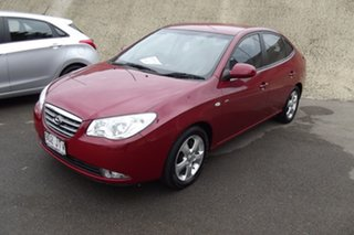 2006 Hyundai Elantra HD Elite Red 4 Speed Automatic Sedan.
