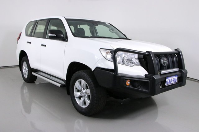 Used Toyota Landcruiser Prado GDJ150R MY17 GX (4x4) Bentley, 2017 Toyota Landcruiser Prado GDJ150R MY17 GX (4x4) White 6 Speed Automatic Wagon