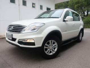 2014 Ssangyong Rexton Y285 II MY14 SX White 5 Speed Sports Automatic Wagon.