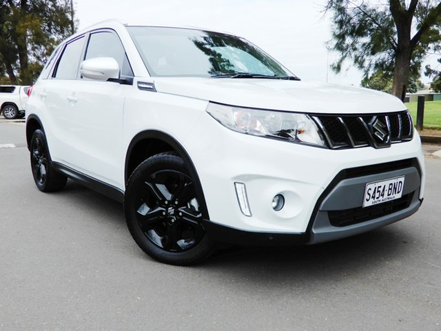Used Suzuki Vitara LY S Turbo 2WD Glenelg, 2016 Suzuki Vitara LY S Turbo 2WD White 6 Speed Sports Automatic Wagon