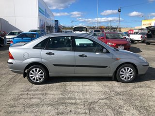 2003 Ford Focus LR MY2003 CL Silver 4 Speed Automatic Hatchback.