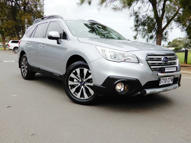 Used Subaru Outback B6A MY17 2.5i CVT AWD Glenelg, 2017 Subaru Outback B6A MY17 2.5i CVT AWD Silver 6 Speed Constant Variable Wagon