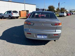 2012 Mitsubishi Lancer CJ MY12 ES Titanium Grey 6 Speed CVT Auto Sequential Sedan