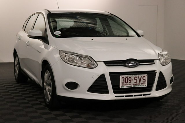 Used Ford Focus LW MkII Ambiente PwrShift Acacia Ridge, 2013 Ford Focus LW MkII Ambiente PwrShift White 6 speed Automatic Hatchback