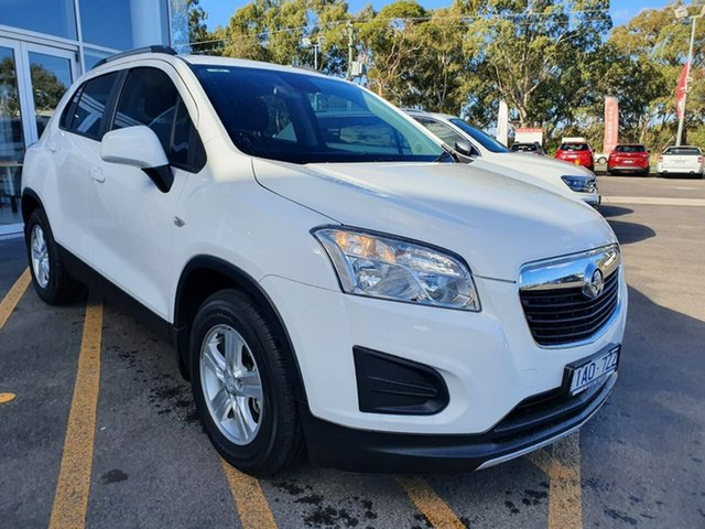 Used Holden Trax TJ MY14 LS Epsom, 2014 Holden Trax TJ MY14 LS White 6 Speed Automatic Wagon